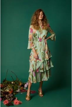 Iris Upon A Dress