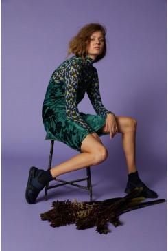 Iris Devore Slip Dress