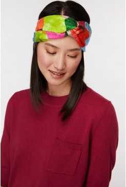 Colour Drop Linen Headband