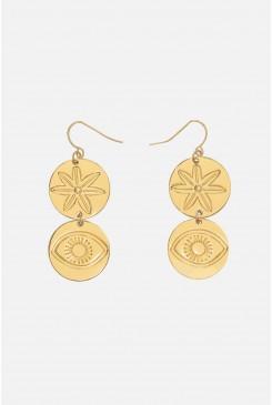 Medallions Earrings