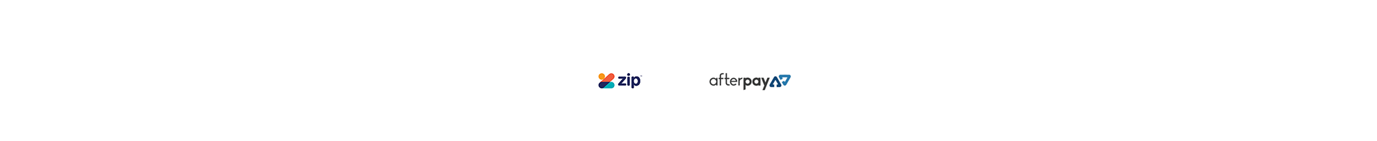 Now accepting ZipPay & Afterpay