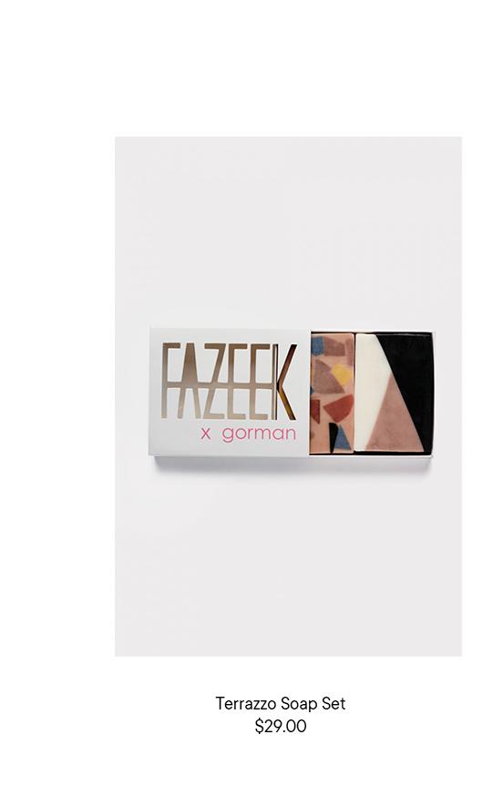 Terrazzo Soap Set
