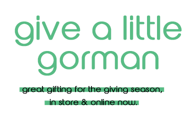 give a little gorman gifting
