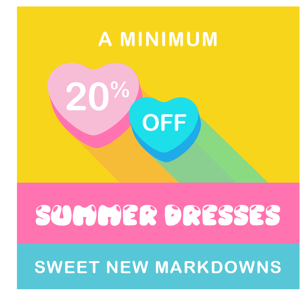 Sweet New Markdowns