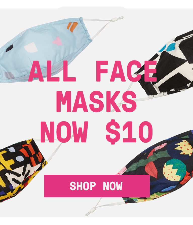 Face masks now $10