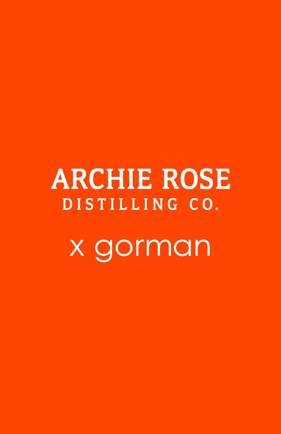 Archie Rose x gorman